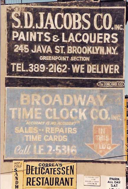 Jacobs / Bway Time Clock